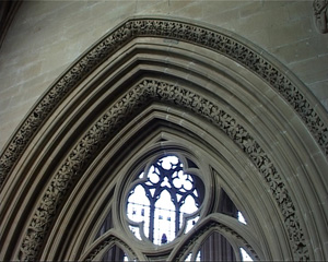 Decorated Gothic Carving, Southwell Minster