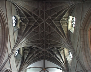 Lierne Vaults, Gloucester Cathedral