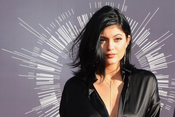 Kylie Jenner arrives at the 2014 MTV Video Music Awards in Los Angeles