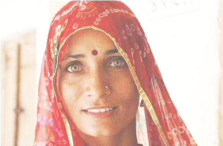 Indian woman from Rajathan