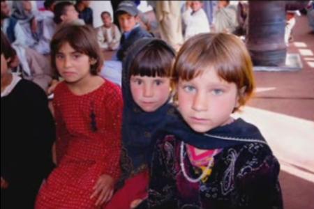 Little girls from Nuristan
