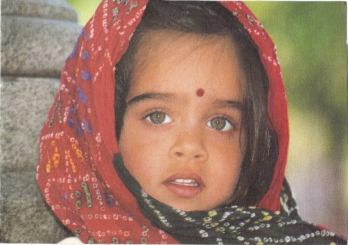 Girl from south Asia