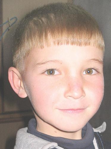Young Hazara boy