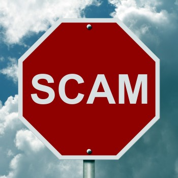 Scam-stop-sign