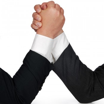 Competition-business-hands