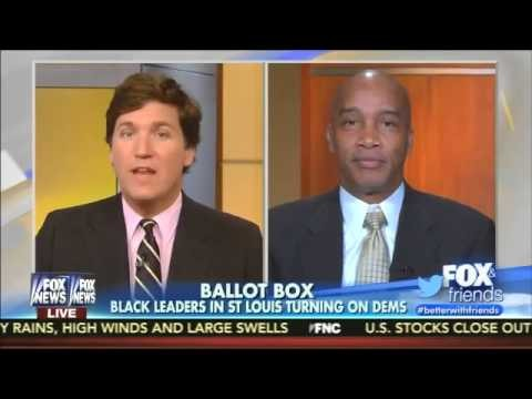 """Fox News host Tucker Carlson speaks with Kevin Jackson, the Executive Director of the website """"The Blacksphere,"""" about race in America, and how white people can't offer valid criticisms about the black community that other African Americans can."""