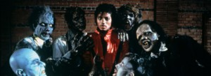 Michael Jackson in 'Thriller.'