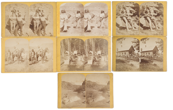 Enormous Archive of Powell Survey Stereoviews,