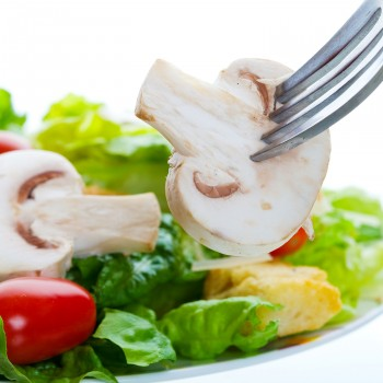 Healthy-diet-mushrooms-salad