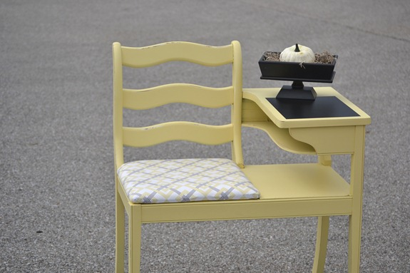 Yellow Telephone table
