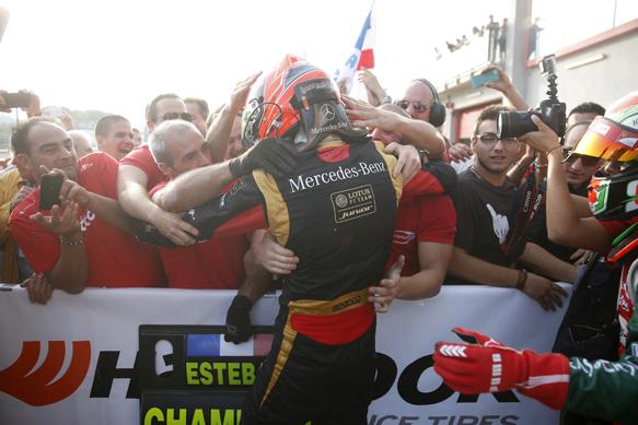 Esteban Ocon wins 2014 European F3 title, Imola