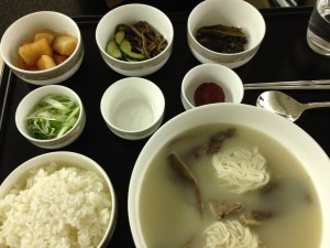 Gomtang with Banchan