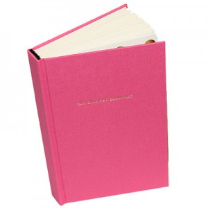 Eat Cake for Breakfast Pink Journal by Kate Spade
