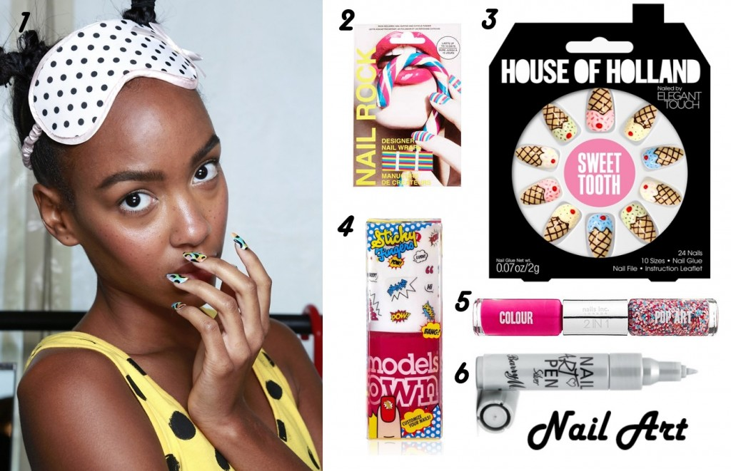 Five Beauty Trends For Spring 2014 - Nail Art