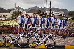 The Tour of Oman Squad looking good on stage 2