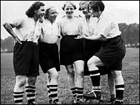 Dick, Kerr's Ladies team who blazed a trail for women's football in the 1920s