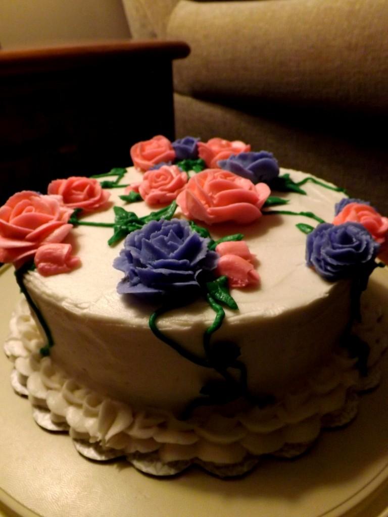 SwankyLuv: Rose Cake