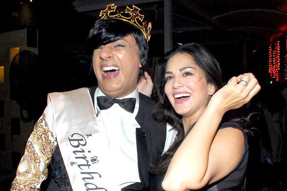 Photos: Sunny Leone, other celebs at Rohhit Verma's birthday bash