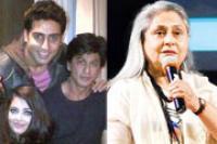 Abhi-Ash apologise to SRK for Jaya Bachchan's 'nonsensical' remark?