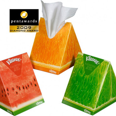 Creative Packaging Design - Kleenex Packaging