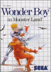 Cover (Wonder Boy in Monster Land)