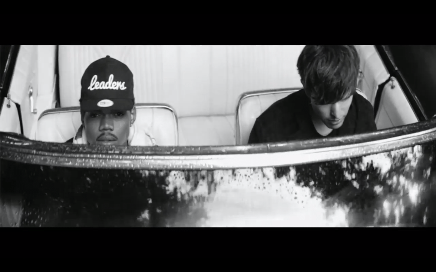 James Blake and Chance the Rapper WILD