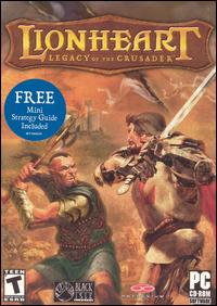 Cover (Lionheart: Legacy of the Crusader)