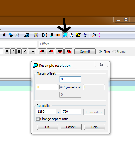 How to resample the resolution
