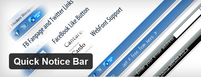 quick note bar
