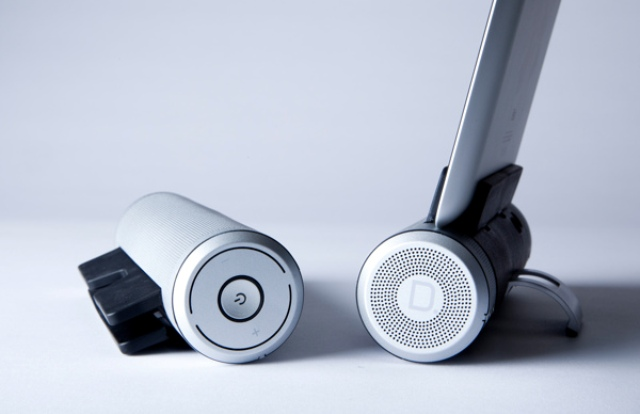 Sound Cylinder concept 2 Dapatkan Kualitas Suara Tablet Anda Dengan Speaker Sound Cylinder
