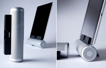 Sound Cylinder concept 4 Dapatkan Kualitas Suara Tablet Anda Dengan Speaker Sound Cylinder