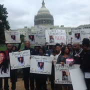 Protest for Miriam Carey