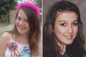 Left: Rebecca Sedwick (12)  Right: Phoebe Prince (15)