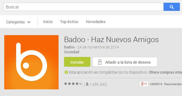 badoo play store