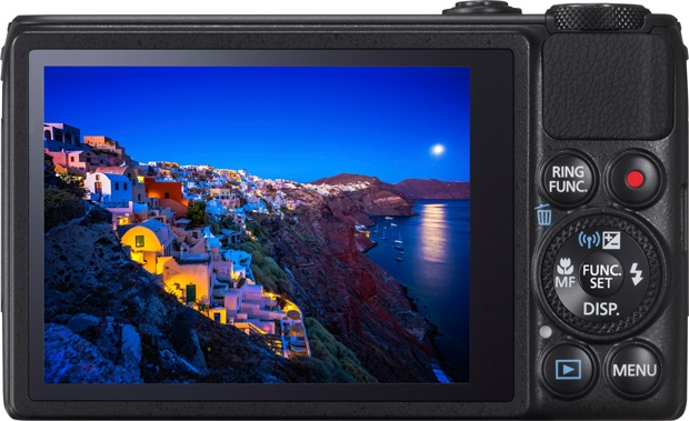 Canon PowerShot S120 pantalla