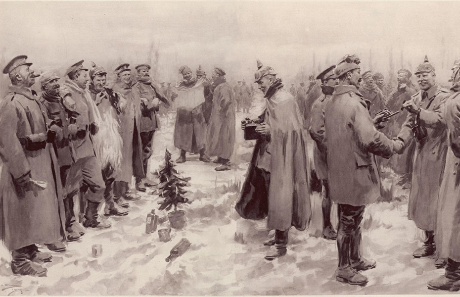 1914 Christmas truce brought near-surreal calm amid bitter conflict