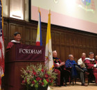 Cardinal Tagle receives honorary degree from Fordham