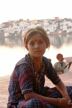 Indian Girl from the north of India