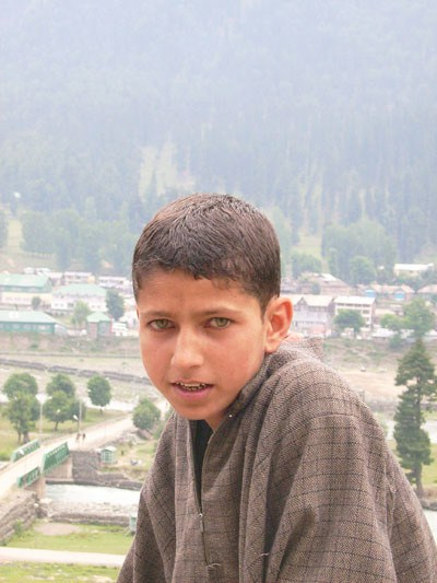 Indian boy from the north of India
