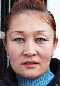 Woman from Central Asia