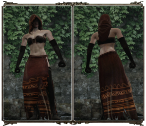 Desert Sorceress Set Female