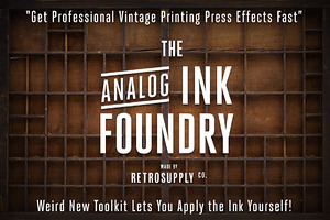Analog Ink Foundry - PSD Print Kit
