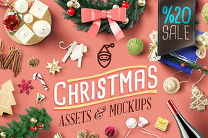 SALE %20- Christmas Asset & Mock Ups