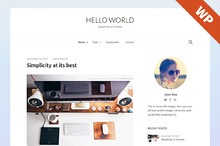 Hello World - WordPress Theme