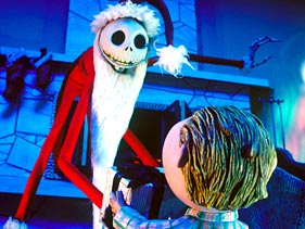 "Jack Skellington in ""The Nightmare Before Christmas"""