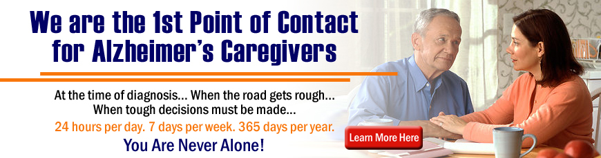 The First Point of Contact for Alzheimer's Caregivers