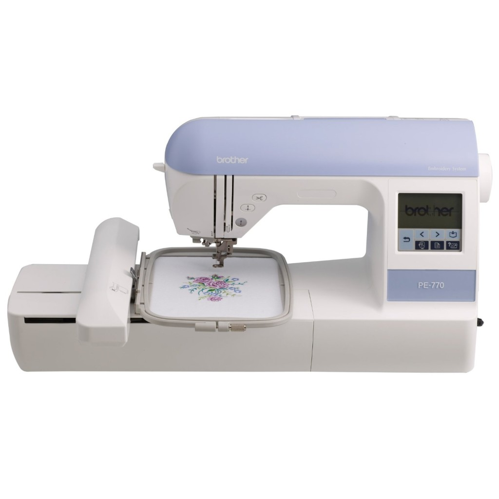 Brother PE770 5x7 inch Embroidery-only machine