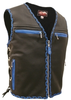 Mens Elite Braided Vest