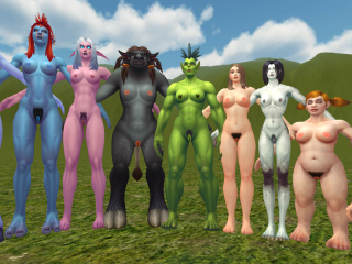 Warlords of Draenor models - hairy version