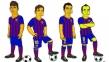 بارسلونا « سیمپسون » شد!